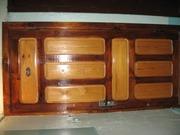 дверь деревянная,  филёнка (входная),  б/у