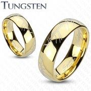 Эксклюзивные кольца из карбида вольфрама с золотым покрытием!!!