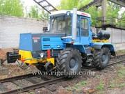 Колесно-рельсовый тягач (локомобиль,  мотовоз) КРТ-1