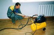 Устранение засоров канализации,  прочистка, промывка труб, систем отопления