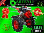 МОТОБЛОК SHTENLI 1100 (Пахарь) 9л.с./дизель с ВОМ (колеса 6x12) с дизе