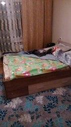 Двухспальняя кровать от спальни Екатерина с матрасом