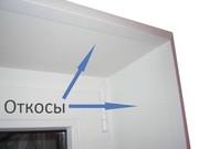 монтаж откосов окна ПВХ