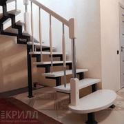 Лестницы деревянные,  металлические,  от компании