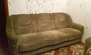 Диван-кровать и 2 кресла б/у