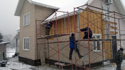 Утепление дома и наружная отделка Все виды строительных работ