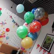 Гелиевые и воздушные шары.